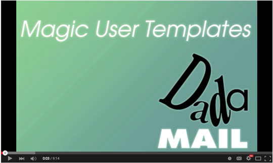Magic User Templates!